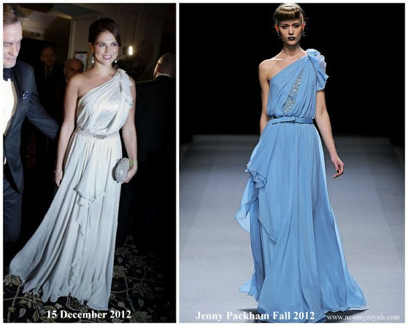 Princess Madeleine wore JENNY PACKHAM Gown Fall 2012