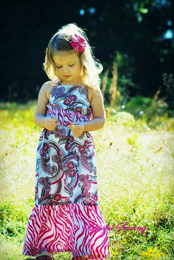 Sewing Patterns for Girls Dresses and Skirts: Maxi Dress Sewing ...