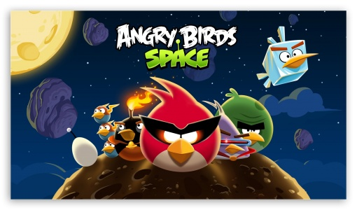 Update Angry Birds Space, Ada 40 Level Baru