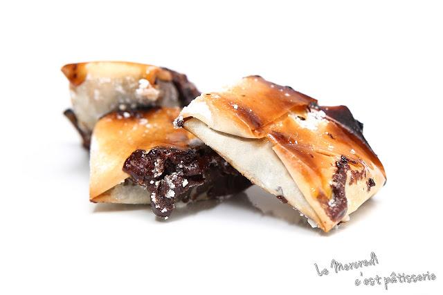 Feuillantines au chocolat de Philippe Conticini
