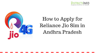 How to Apply for Reliance Jio Sim in Andhra Pradesh