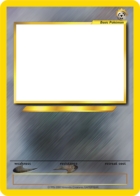 Pokemon Tcg Blanks Neo Jumbo  Basic By Icycatelf On Deviantart