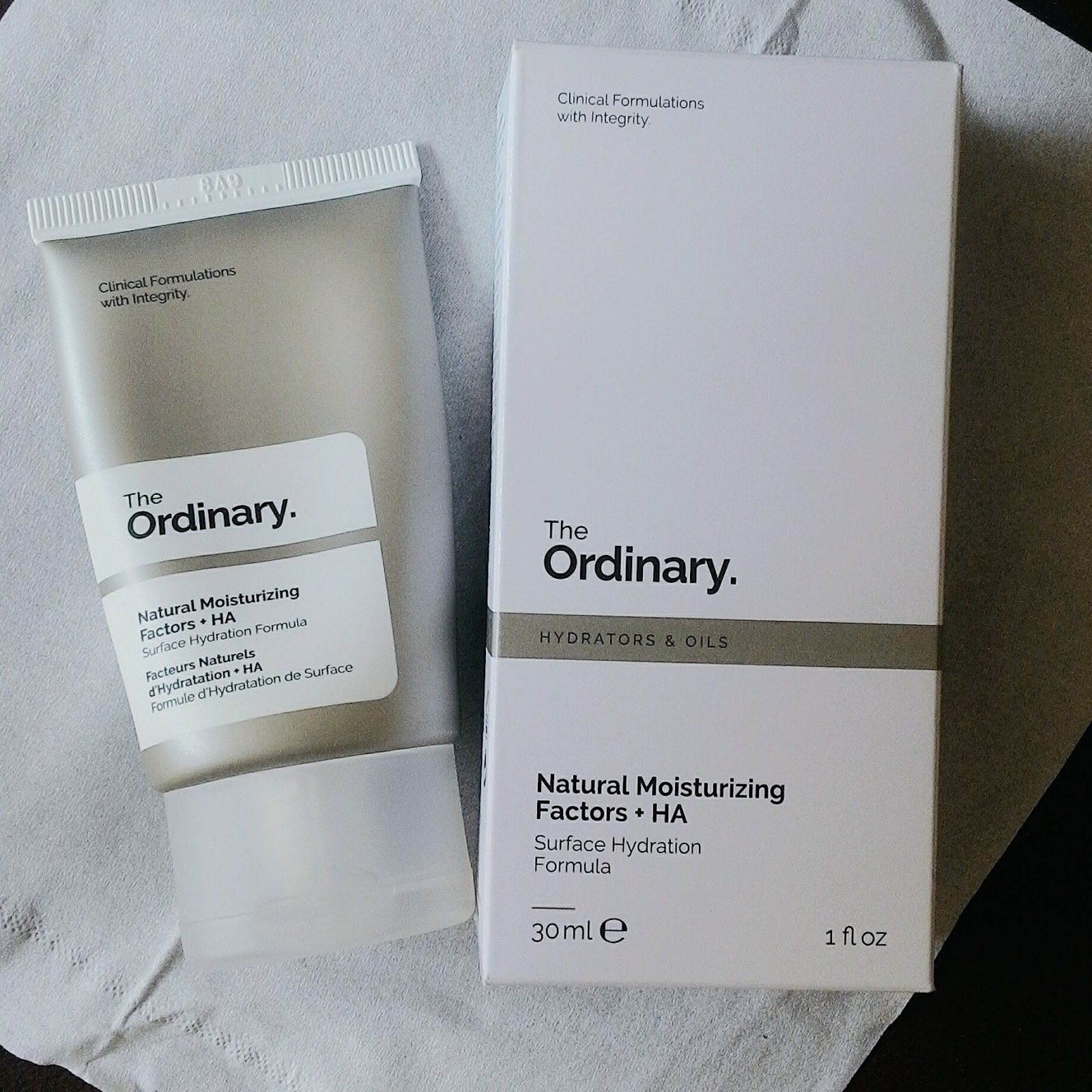 The Ordinary Natural Moisturizing Factor Ha Nmf Review