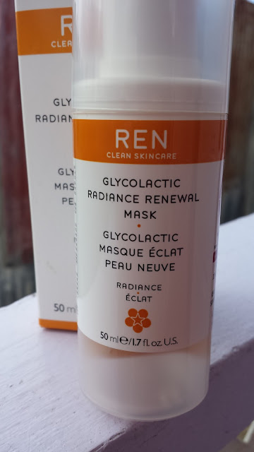 REN Clean Skincare Glycol Lactic Radiance Renewal Mask - www.modenmakeup.com