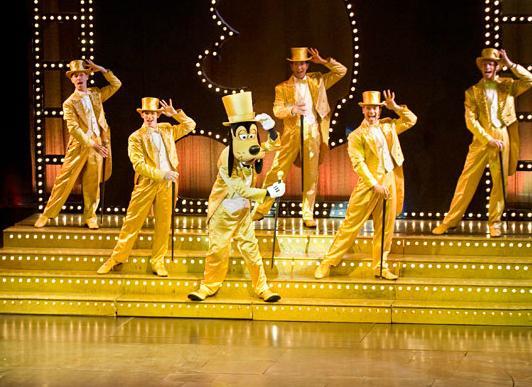 Cruzeiro Disney Dream Navio Show Golden Mickey