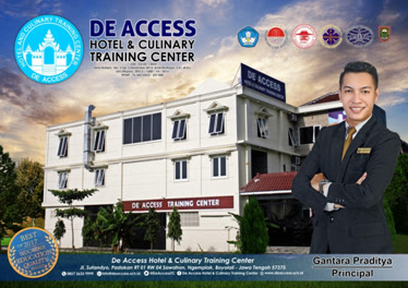 Lowongan Kerja Sekolah Perhotelan, Kapal Pesiar dan Kuliner di Solo - De Access Hotel & Culinary Training Center
