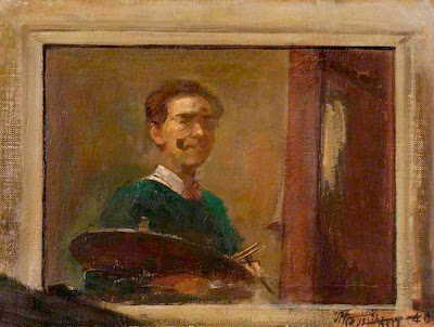 Rodrigo Moynihan, Self Portrait, Portraits of Painters, Fine arts