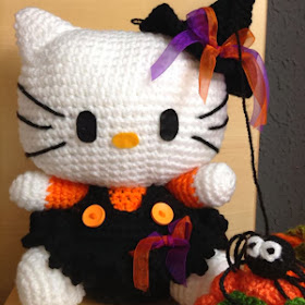 Big Hello Kitty Amigurumi Free Pattern | Crochet de hello kitty ... | 280x280