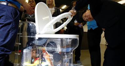 El inodoro del futuro que funciona sin agua