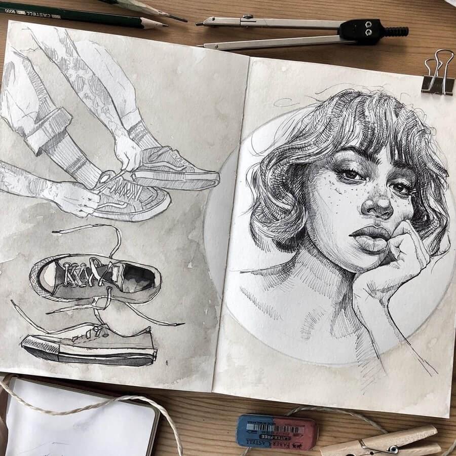 13-Florian-Erb-Minimalist-Sketches-www-designstack-co
