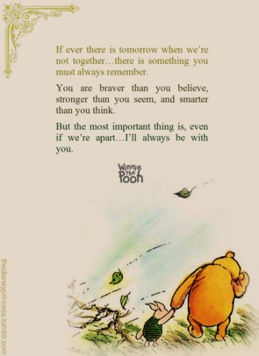 pooh bear quotes quotesgram. Black Bedroom Furniture Sets. Home Design Ideas