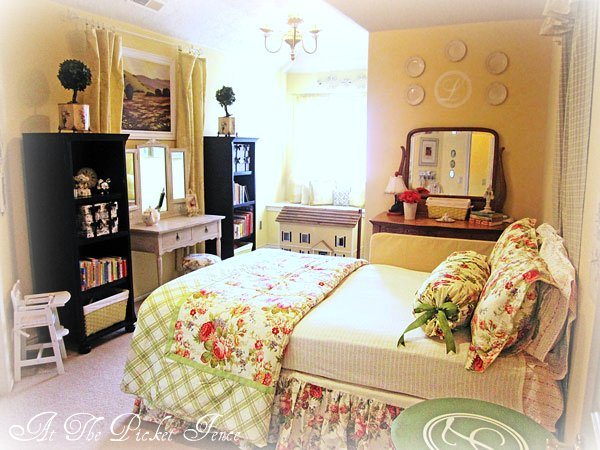 From Junk Room To Beautiful Bedroom The Big Reveal: Big Girl Bedroom Reveal And Featured Blogger