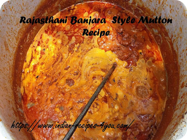 Rajasthani Banjara  Style Mutton Recipe In Hindi