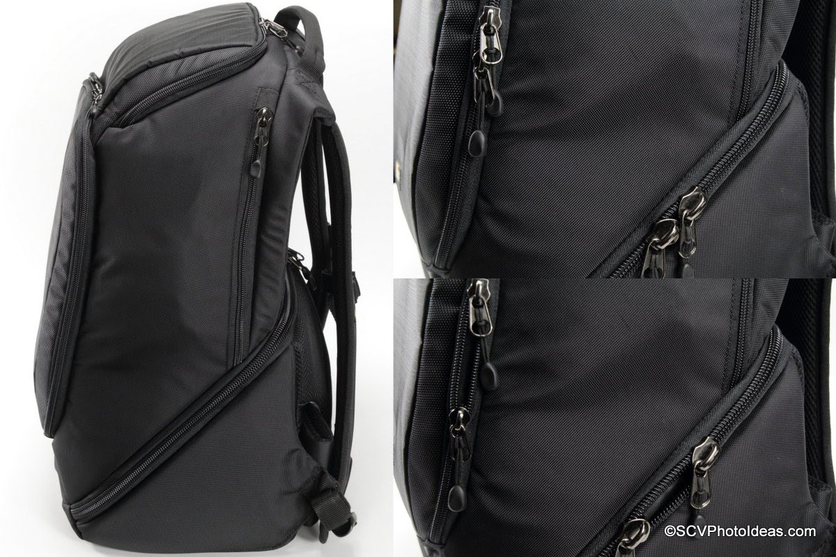 Case Logic DSB-103 zippers details