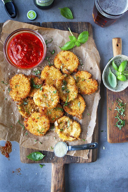 Fried Mozzarella Cheese Recipe