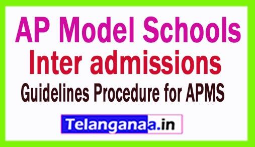 AP Model Schools Inter admissions