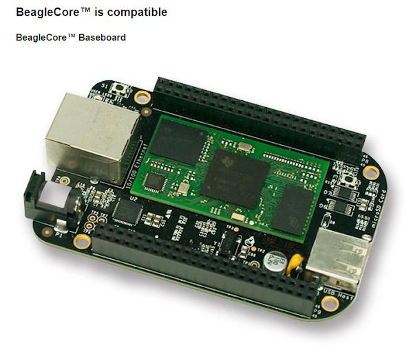 在 Kickstarter 上募資的 BeagleCore,數位時代翻攝