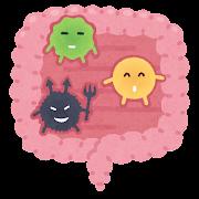 腸内細菌のイラスト
