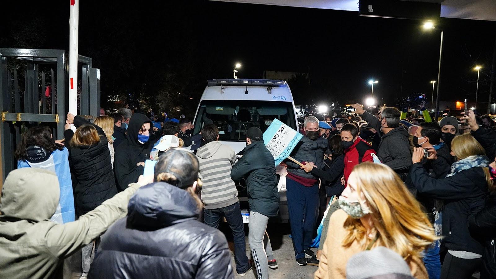Lázaro Báez no pudo ingresar al country Ayres del Pilar
