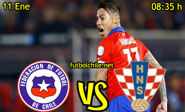 Ver stream hd youtube facebook movil android ios iphone table ipad windows mac linux resultado en vivo, online: Chile vs Croacia