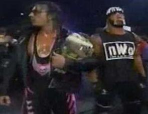 Adam's Wrestling: Triple Threat: Hulk Hogan vs Bret Hart ...