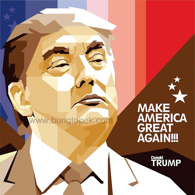 SKINTONE WPAP Donald Trump