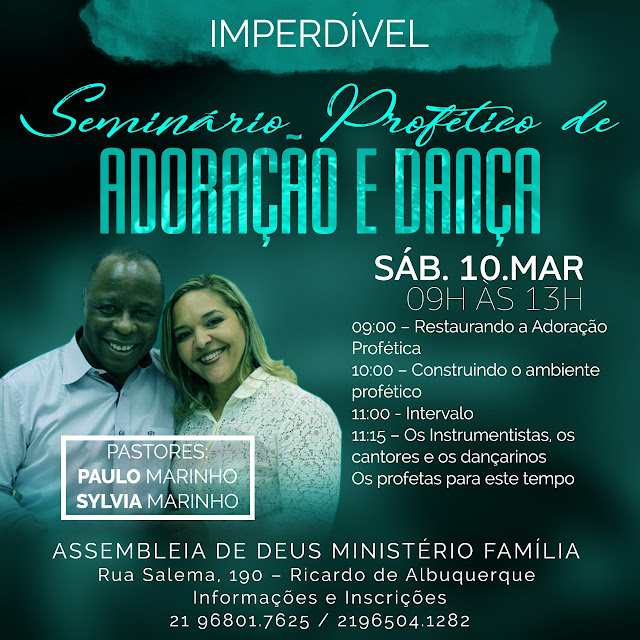 Seminário Profético de Adoração e Dança (RJ)