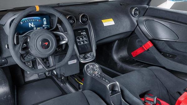 Interior McLaren MSO X