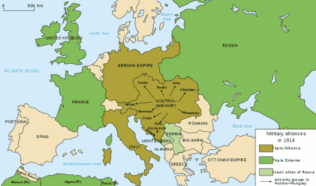 Perang Dunia I, PD I, The First World War, Triple Alliance, Triple Entete