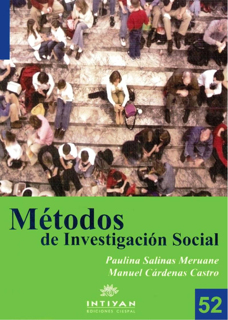 Métodos de Investigación Social – Paulina Salinas Meruane