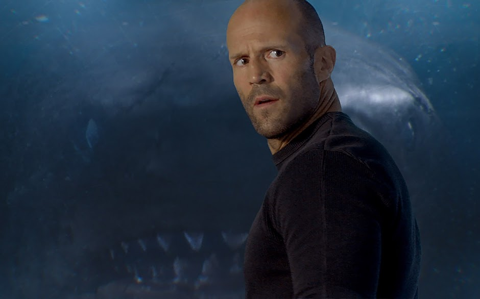 "Jason Statham vs Tubarão gigante no 1º trailer de ""The Meg"""