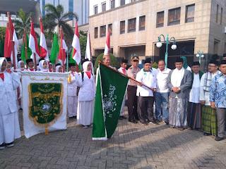 Berangkat dari depan Walikota Jakarta Barat