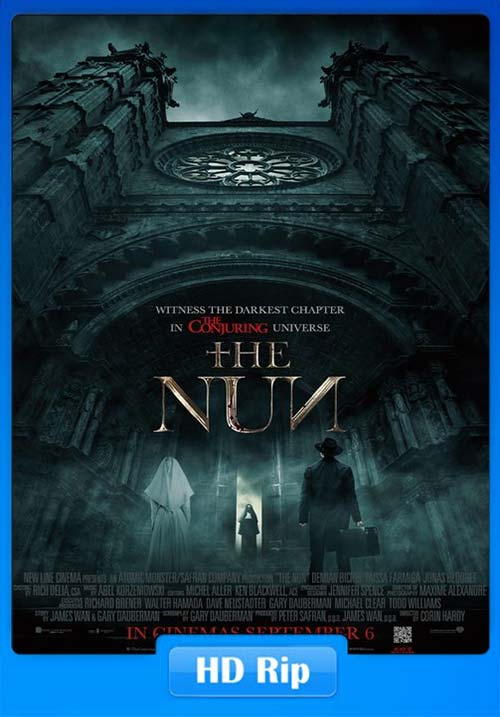 The Nun 2018 Dual Audio Hindi 720p HC HDRip | 480p 300MB | 100MB HEVC