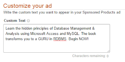 Screenshot 4: customize your ads