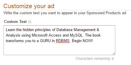 Screenshot 4: customize your ads
