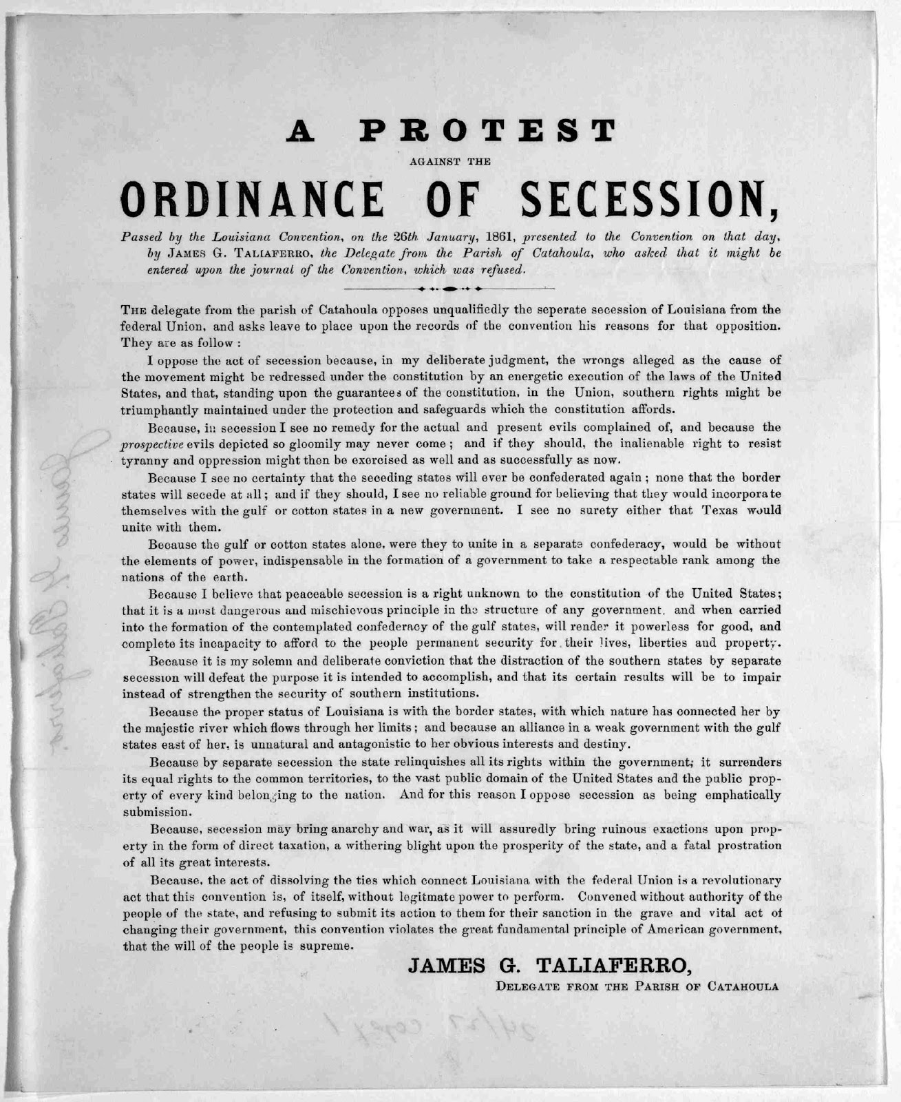 articles of secession