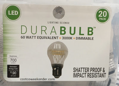 Costco 1062549 - Lighting Science Durabulb 60 Watt LED - great for any home
