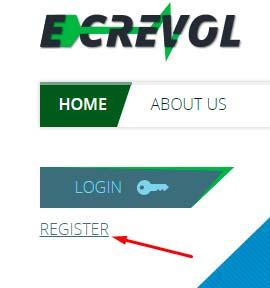Регистрация в Energy Cars Revolution