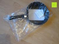 eingetütet: TV Unser Original 08832 Bratoni Geschmiedete Aluminium-Hochrandpfanne mit Hitzekontrolle, 28 cm