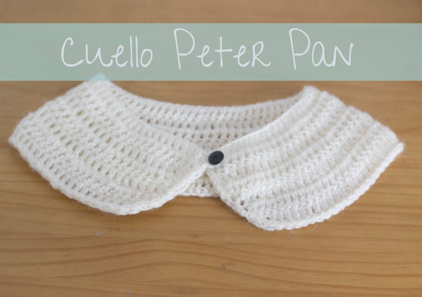 De puntadas y otros enredos: Cuello Peter Pan (con patrón)