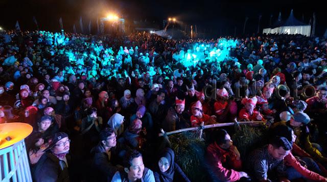 Jazz Ijen 2015 di Desa Tamansari, Banyuwangi.
