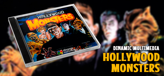 Hollywood Monsters PC-CD (Dinamic Multimedia, 1997)
