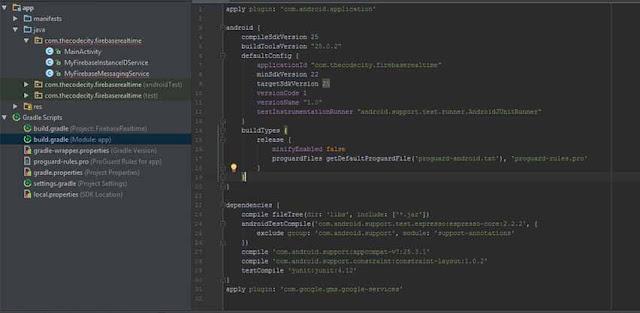 Firebase-app-level-dependency