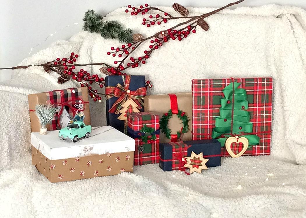 Ιδέες για το τύλιγμα των δώρων τα Χριστούγεννα