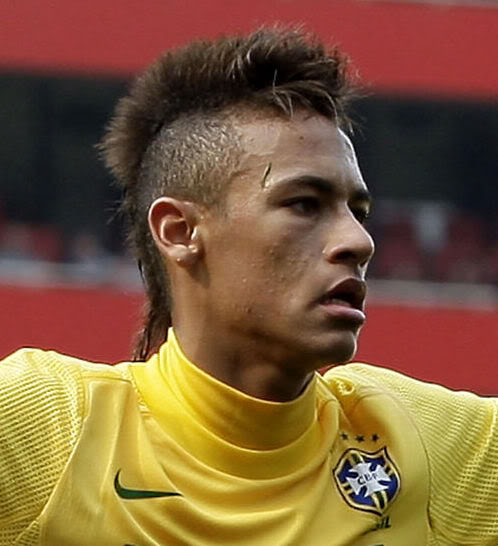 Neymar Cool Mohawk Hair Style Men Hairstyles Short