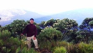 Jalur pendakian Gunung Ciremai via Palutungan