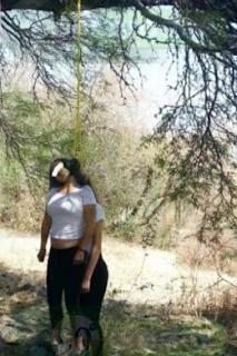 Hallan colgadas de un arbol a jovencitas reportadas desaparecidas Michoacan