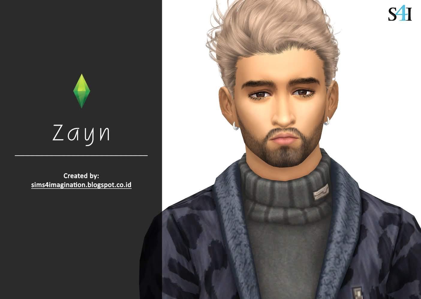 My Sims 4 CAS: Zayn