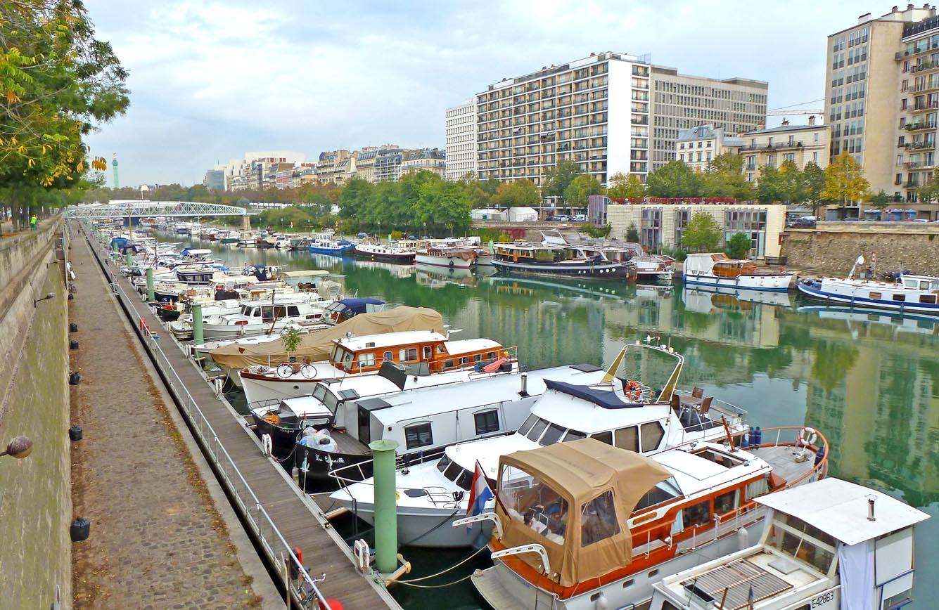 Living the life in saint aignan le port de l 39 arsenal - Port de l arsenal paris ...