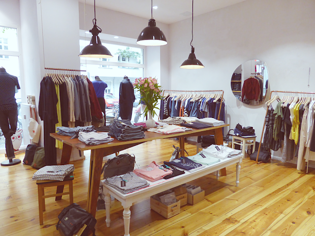 Inside Loveco in Friedrichshain - sustainable clothing and accessories